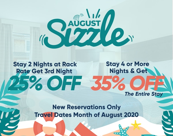 August Sizzle - Specials